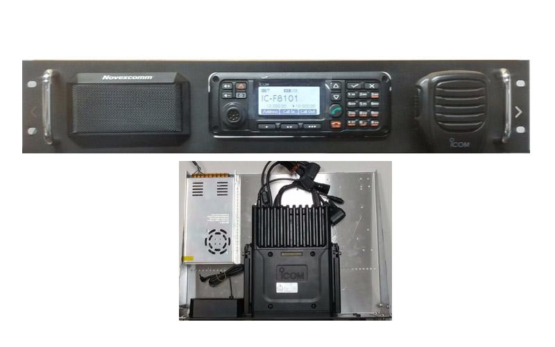 Novexcomm Radio Rack Mounts